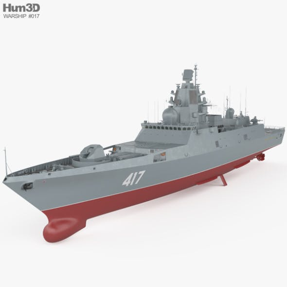 Admiral Gorshkov-class frigate - 3DOcean Item for Sale