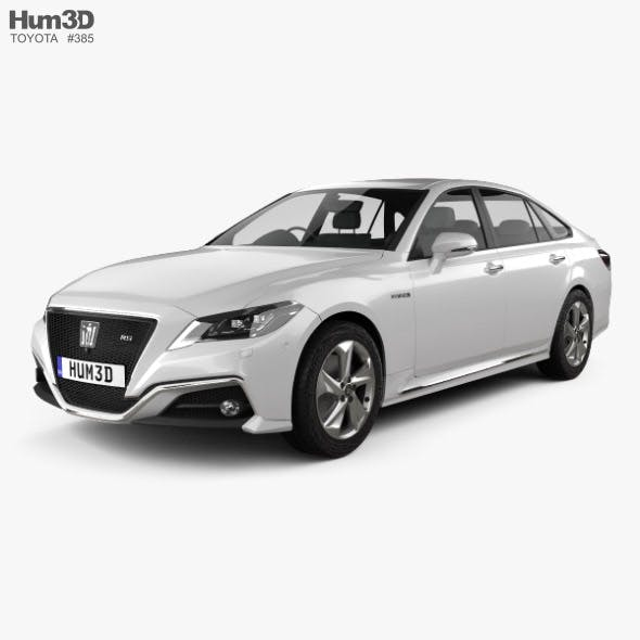 Toyota Crown RS Advance 2018 - 3DOcean Item for Sale