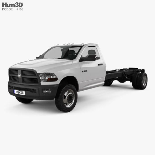 Dodge Ram 5500 Regular Cab Chassis L4 2012 - 3DOcean Item for Sale