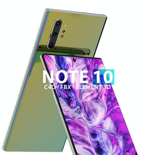 Element Note 10 3D Models