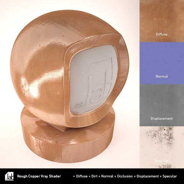 Rough Copper - 3DOcean Item for Sale