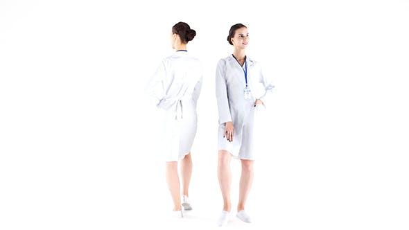 Medical nurse 10 - 3DOcean Item for Sale