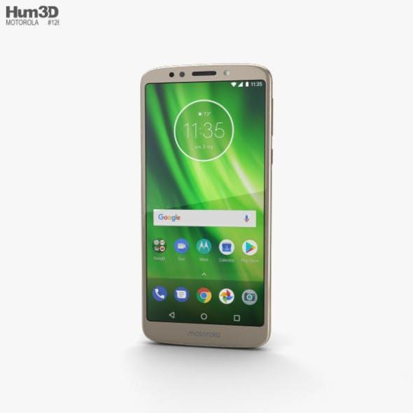 Motorola Moto G6 Play Gold - 3DOcean Item for Sale