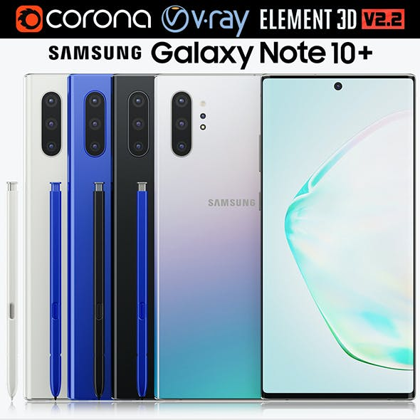 Samsung Galaxy Note 10 Plus All Colors