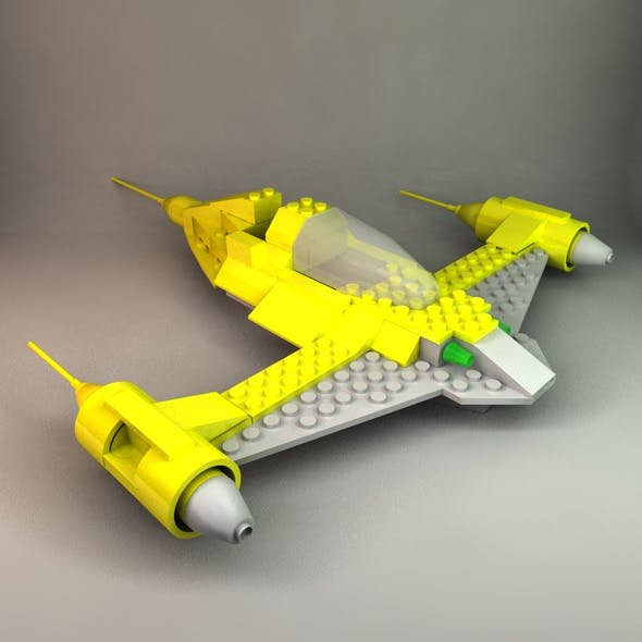 Lego Naboo Fighter