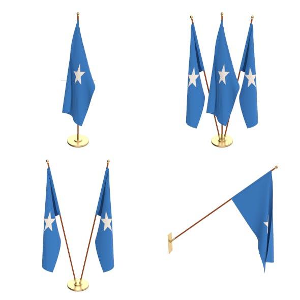 Somalia Flag Pack - 3DOcean Item for Sale