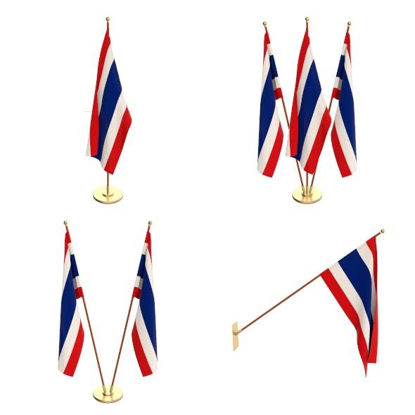 Thailand Flag Pack - 3DOcean Item for Sale
