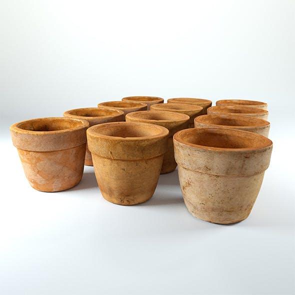 Clay Pot - 3D Scan 4K