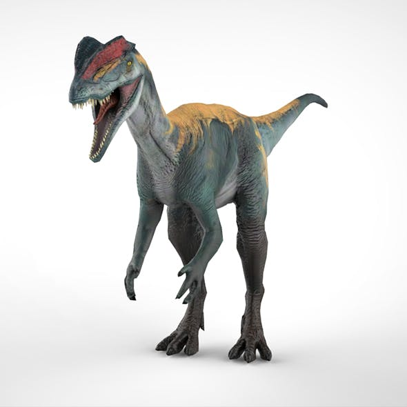 Dilo Dinosaurs - 3DOcean Item for Sale