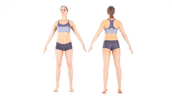 Woman sport 20 - 3DOcean Item for Sale