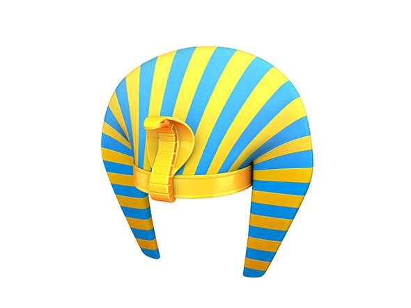 Pharaoh Hat - 3DOcean Item for Sale
