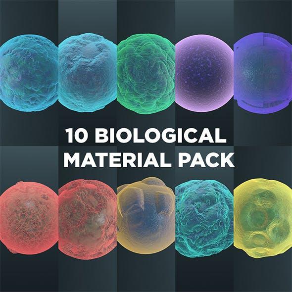 Biological Material Pack 1 - Cinema 4D - 3DOcean Item for Sale