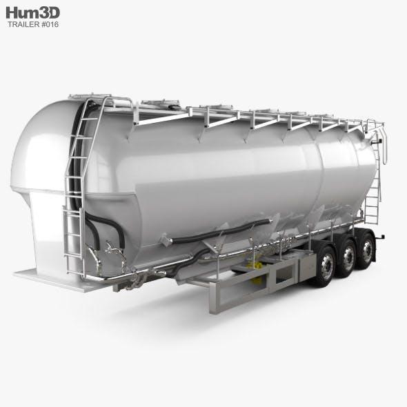 Scania Tanker Semi Trailer 2017 - 3DOcean Item for Sale