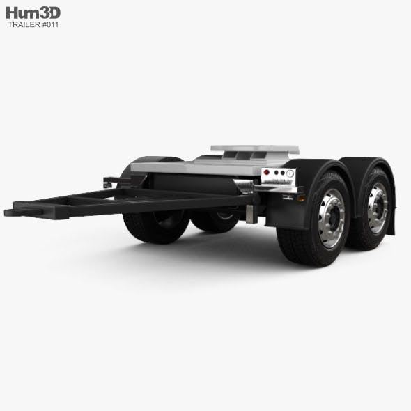 Scania Dolly Trailer 2017 - 3DOcean Item for Sale