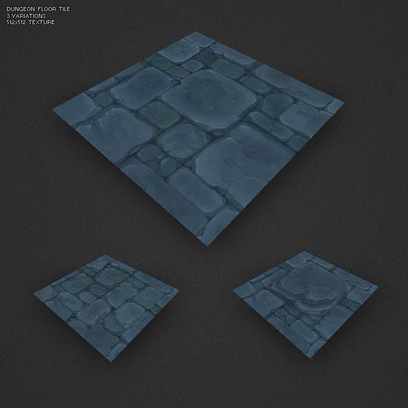 Low Poly Dungeon Floor Tile