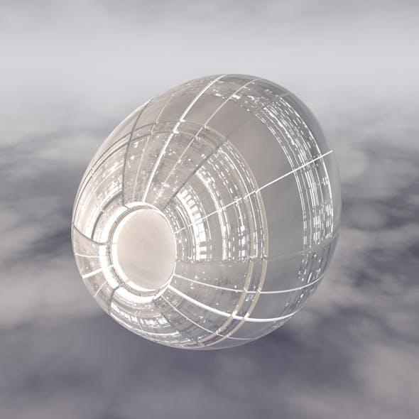 Sci-Fi Spaceship A 004