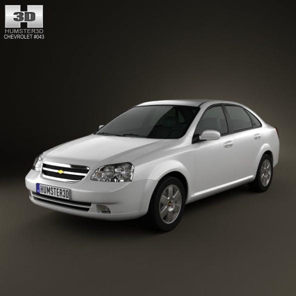Chevrolet Lacetti Sedan 2011 - 3DOcean Item for Sale