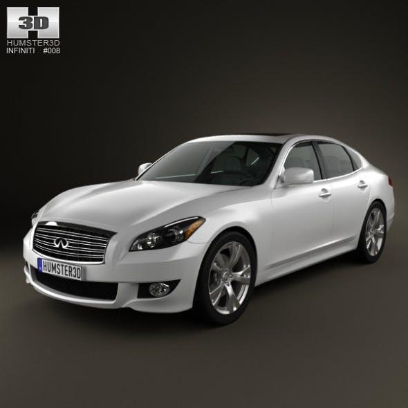 Infiniti M 2011 - 3DOcean Item for Sale