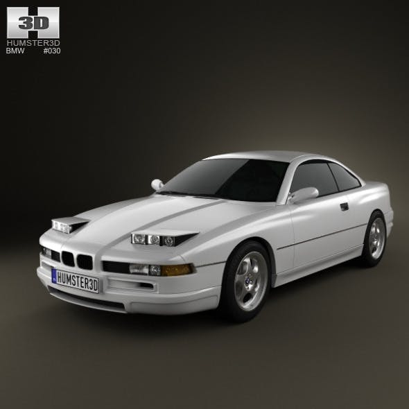 BMW 8 Series (E31) - 3DOcean Item for Sale