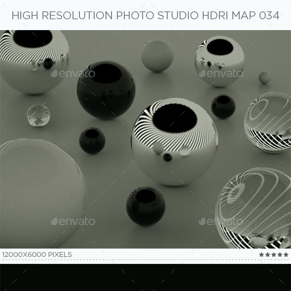 High Resolution Photo Studio HDRi Map 034