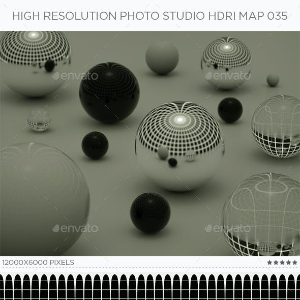 High Resolution Photo Studio HDRi Map 035