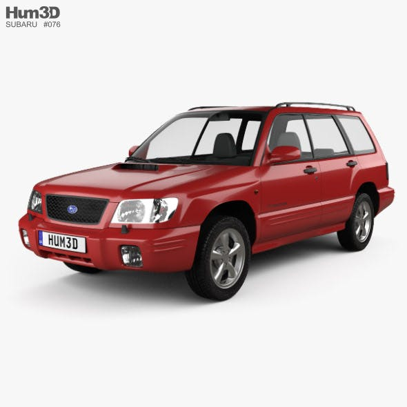Subaru Forester S-Turbo 2000 - 3DOcean Item for Sale