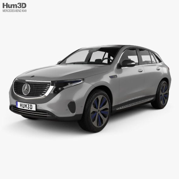 Mercedes-Benz EQC 400 2018 - 3DOcean Item for Sale
