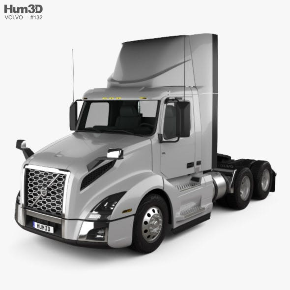 Volvo VNL Day Cab Tractor Truck 2018 - 3DOcean Item for Sale