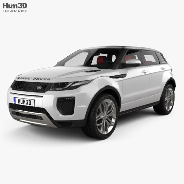 Land Rover Range Rover Evoque HSE 5-door with HQ interior 2015