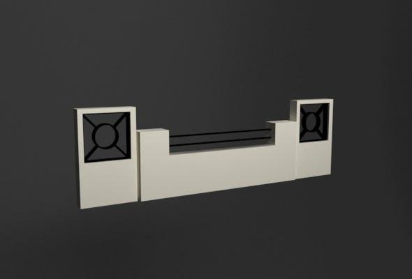 Fence - 3DOcean Item for Sale