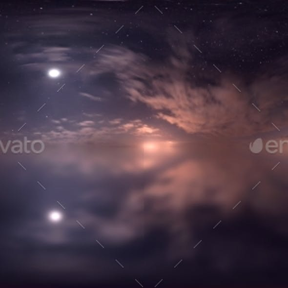 HDRI Skydomes - Starry Night 3