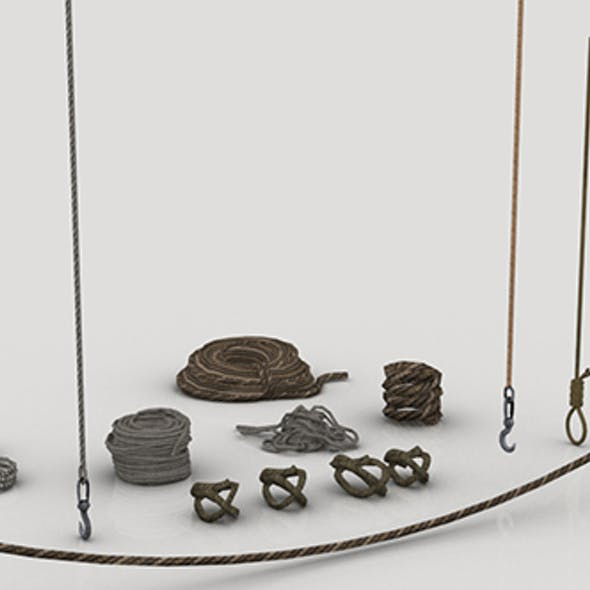 Set of Various Ropes
