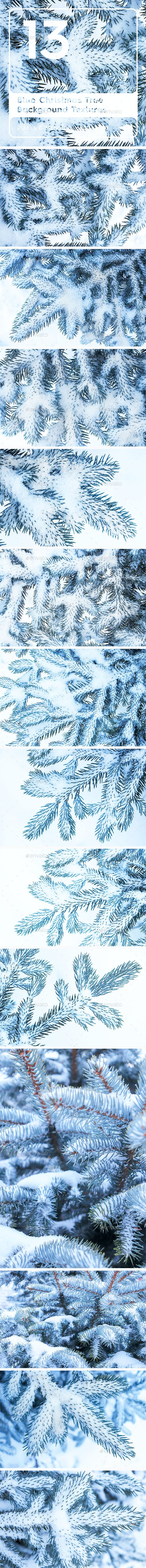 13 Blue Tree Background Textures - 3DOcean Item for Sale