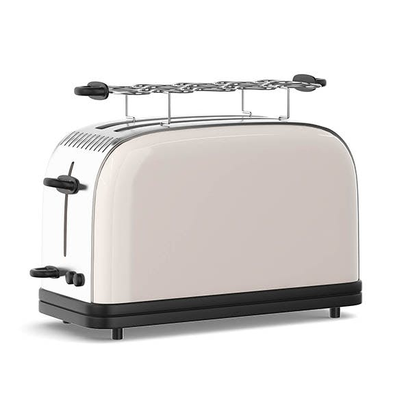 Toaster 3D Model - 3DOcean Item for Sale