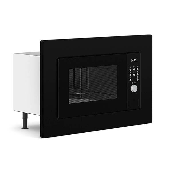Build-in Microwave 3D Model