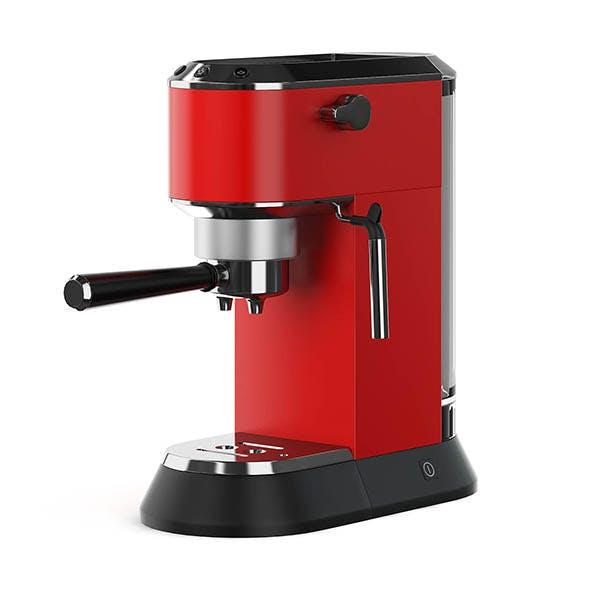 Coffee Machine 3D Model - 3DOcean Item for Sale