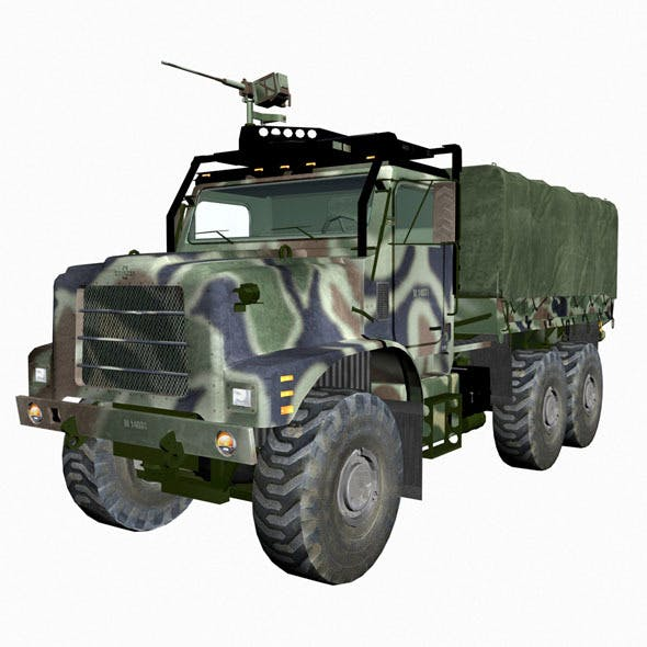 Mvtr military vehicle - 3DOcean Item for Sale
