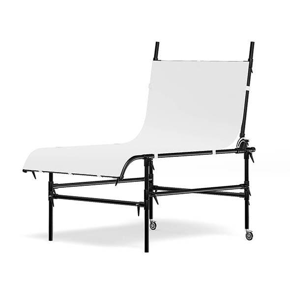 Studio Table 3D Model - 3DOcean Item for Sale
