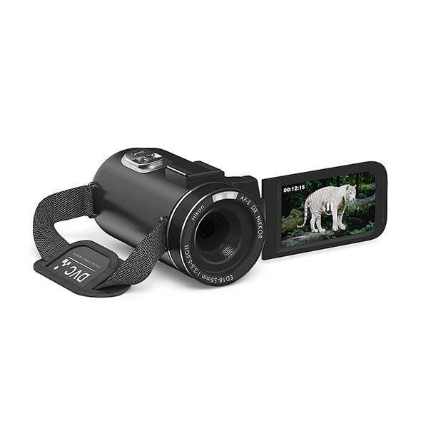 Movie Camera 3D Model - 3DOcean Item for Sale