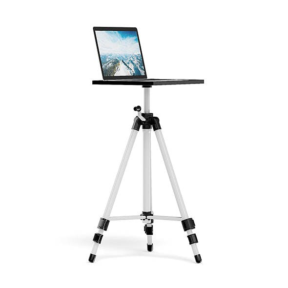 Notebook Tripod 3D Model