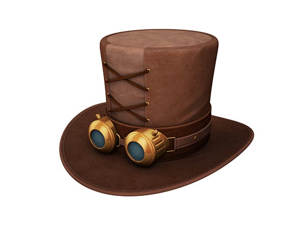 Steampunk Hat - 3DOcean Item for Sale