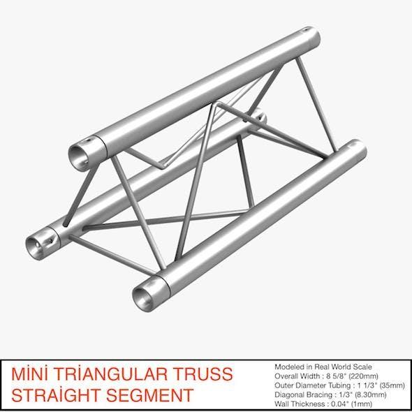 Mini Triangular Truss Straight Segment 111 - 3DOcean Item for Sale