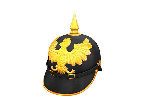 Pickelhaube Helmet - 3DOcean Item for Sale
