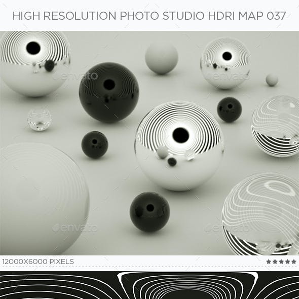 High Resolution Photo Studio HDRi Map 037