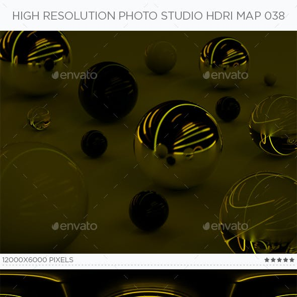 High Resolution Photo Studio HDRi Map 038