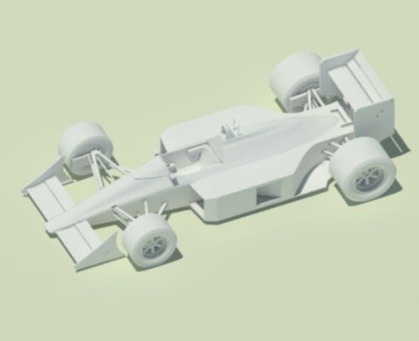 McLaren MP4-4 (no cooling scoops) - 3DOcean Item for Sale