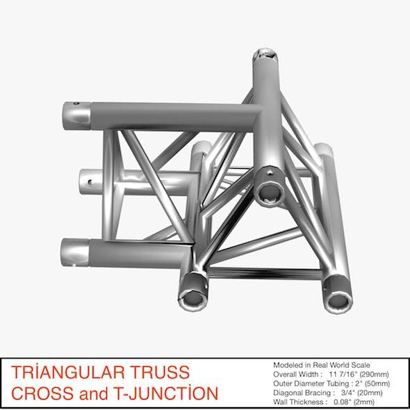 Triangular Truss Cros and T Junction 84
