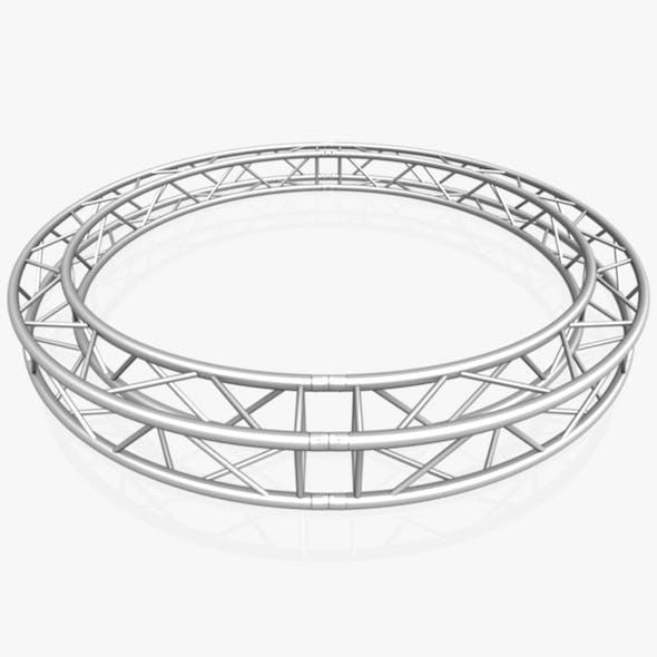 Circle Square Truss (Full diameter 300cm) - 3DOcean Item for Sale