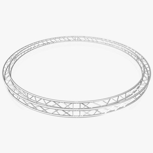 Circle Square Truss (Full diameter 600cm) - 3DOcean Item for Sale