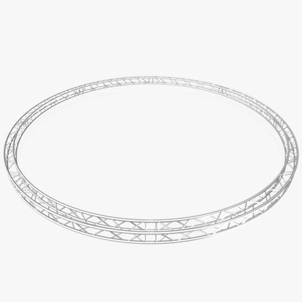 Circle Square Truss (Full diameter 800cm) - 3DOcean Item for Sale
